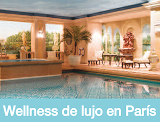 Wellness de lujo en Paris